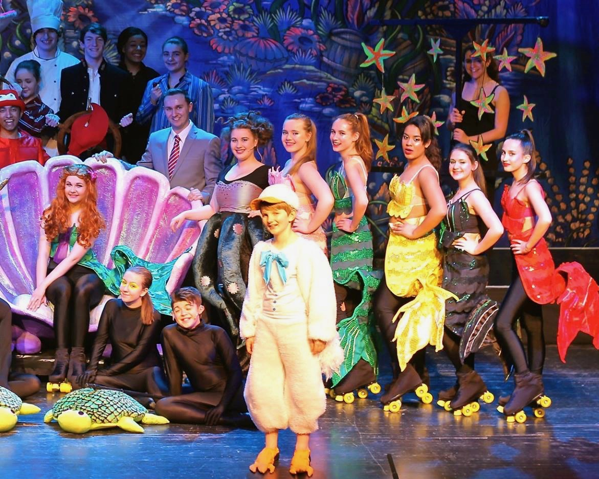 The Little Mermaid Full Company